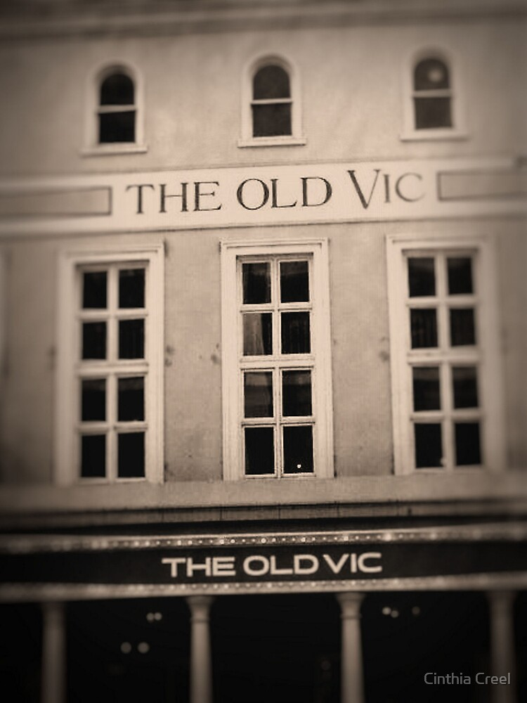 Old Vic Theatre by Cinthia Creel
