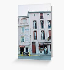Shopfronts  Greeting Card