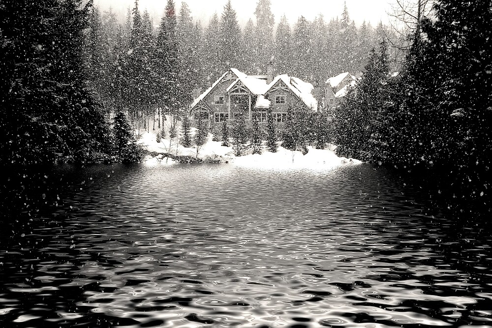Lakeside Cabin @ Whistler by Dougjsmith