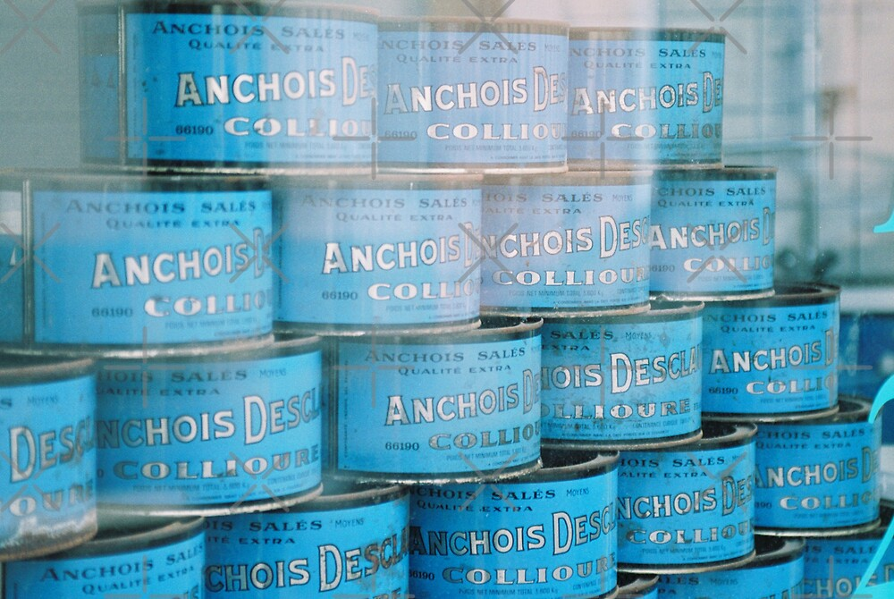 Anchovy Tins by Louise Green