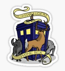 The Marauders Have The Phonebox Sticker