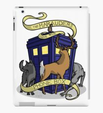 The Marauders Have The Phonebox iPad Case/Skin