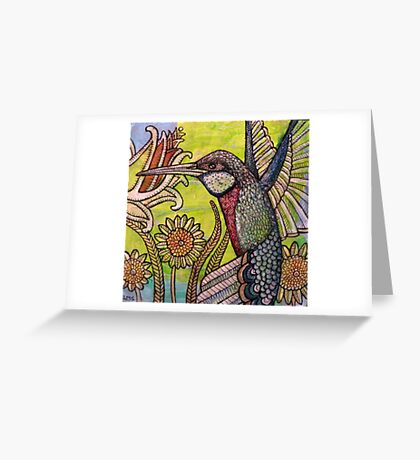 Flight of Fancy Greeting Card