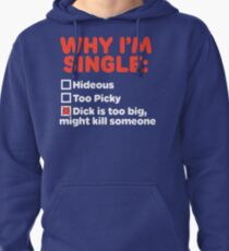 Why I'm Single Pullover Hoodie
