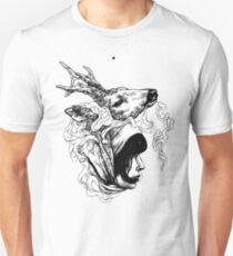 Beauty and Deer Unisex T-Shirt
