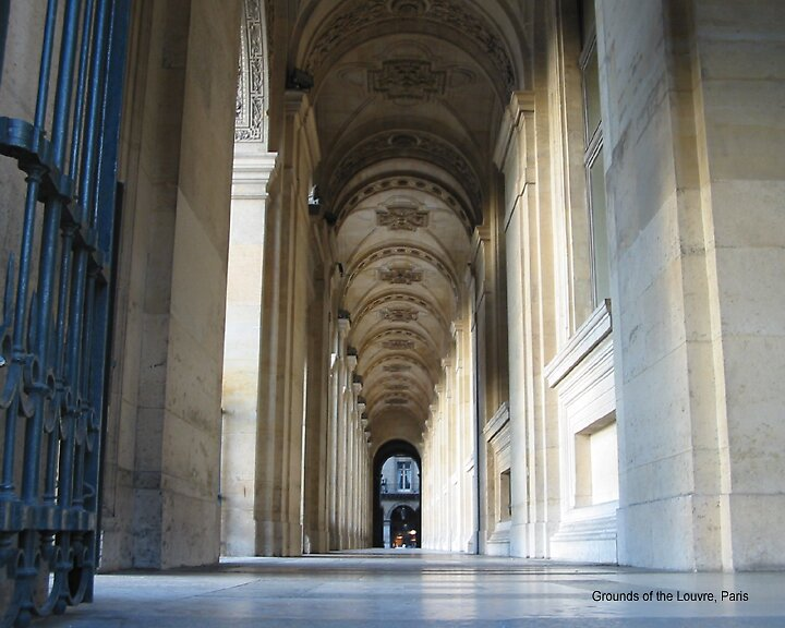 Grounds of the Louvre, Paris by alanlowney