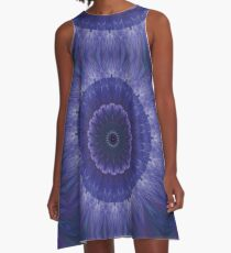 kaleidoscope night-time A-Line Dress