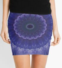kaleidoscope night-time Mini Skirt