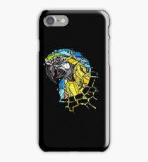Abstract Parrot iPhone Case/Skin