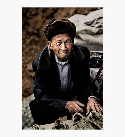 Shoe seller Photographic Print
