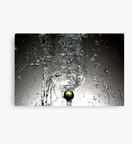 Movement of water 3 Canvas Print