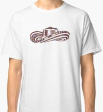 Colombian Sombrero Vueltiao in Mola Pattern Classic T-Shirt