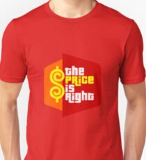 PLINKO THE PRICE IS Unisex T-Shirt