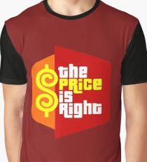 PLINKO THE PRICE IS Graphic T-Shirt