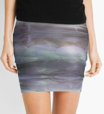 kaleidoscope -misty day Mini Skirt