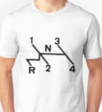 VW Shift pattern Unisex T-Shirt