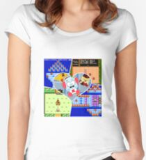 Kickle Cubicle - Design for Fans Women's Fitted Scoop T-Shirt