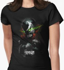 SPAWN rage lithium green Women's Fitted T-Shirt