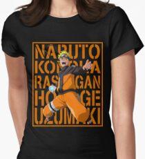 Naruto Uzumaki Womens Fitted T-Shirt