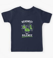 Science Not Silence Kids Tee