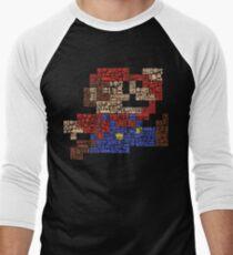 The Making of a Hero Men's Baseball ¾ T-Shirt