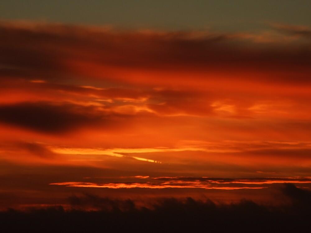 firey sky by matjenkins