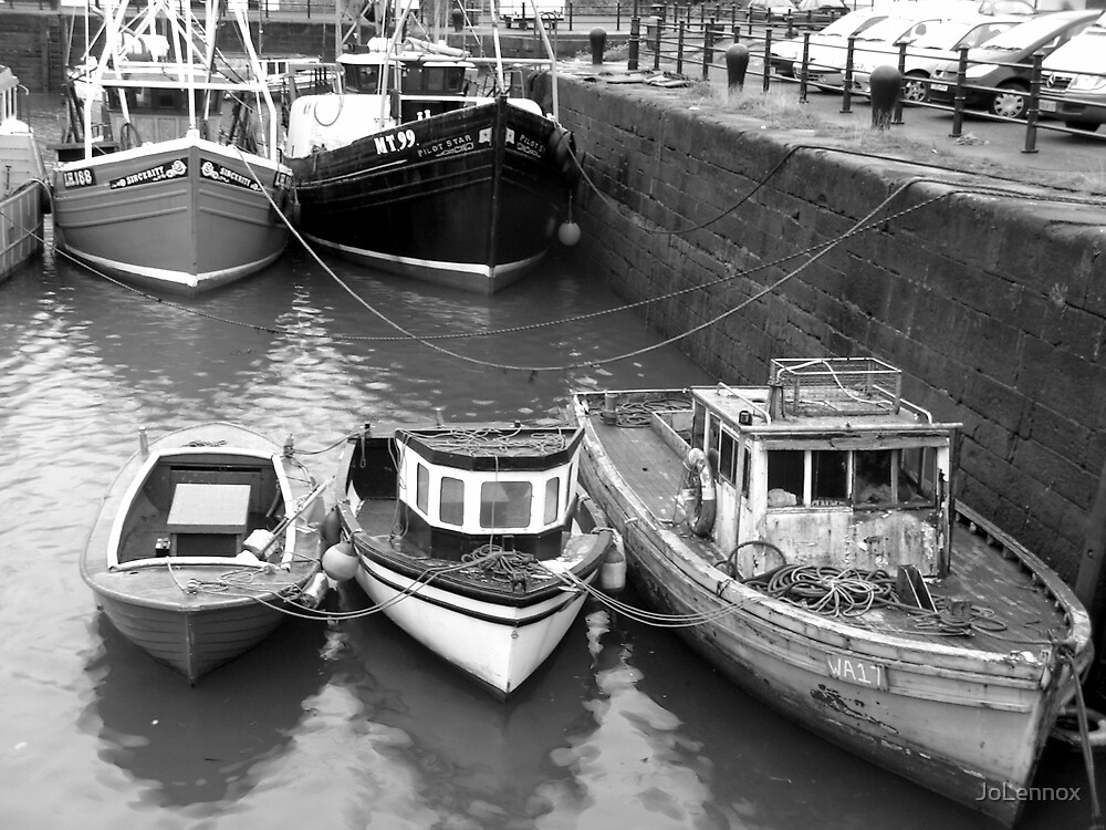 Family Of Boats by JoLennox