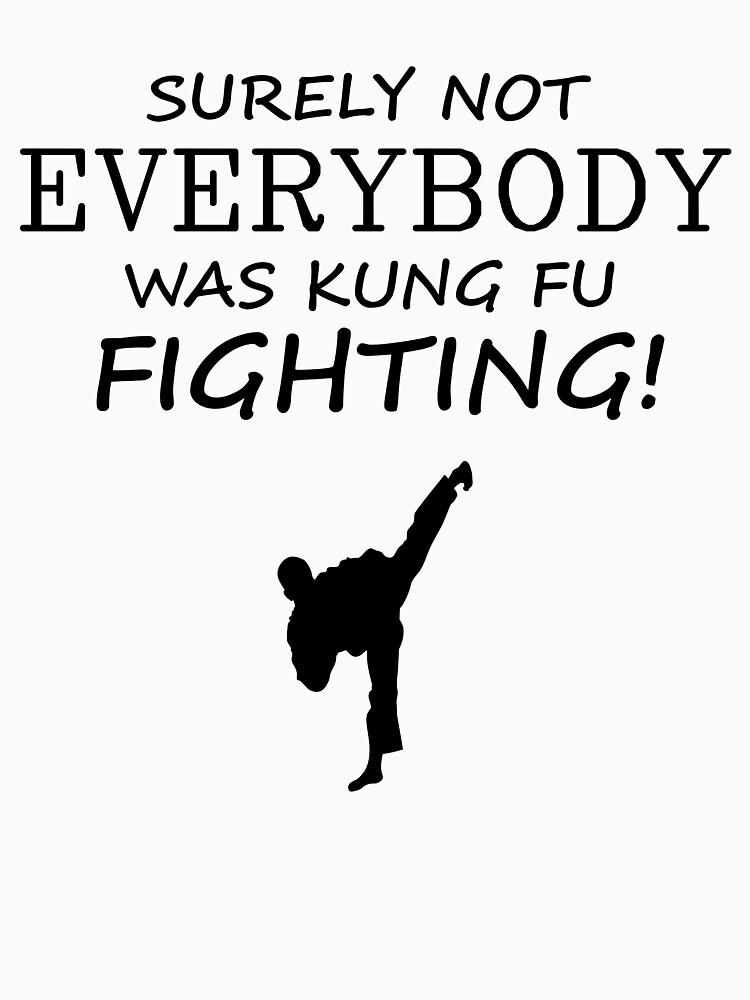 Sicherlich war nicht jeder Kung-Fu-Kämpfer! Schwarze Version von simbamerch