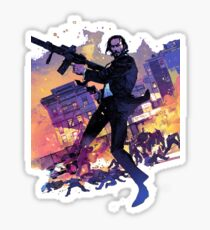 John Wick he is back Sticker