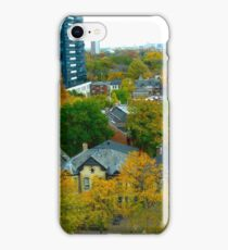 Victoriana in the city iPhone Case/Skin
