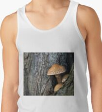 Toadstool in the rainy woods Tank Top