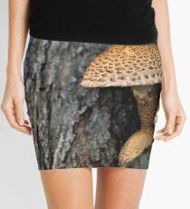 Toadstool in the rainy woods Mini Skirt