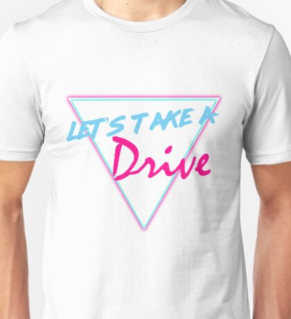 Let's Take A Drive 80s Graphic T-shirt