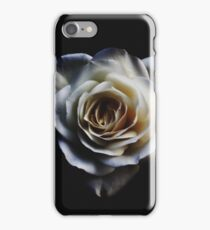 Classic white rose iPhone Case/Skin