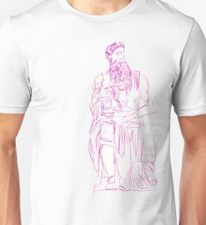 NEW CLASSICAL SERIES: WHITE MOSES Unisex T-Shirt