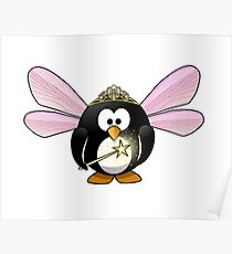 The Penguin Elf Poster