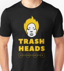 Trash Heads Gold Logo T-Shirt Unisex T-Shirt