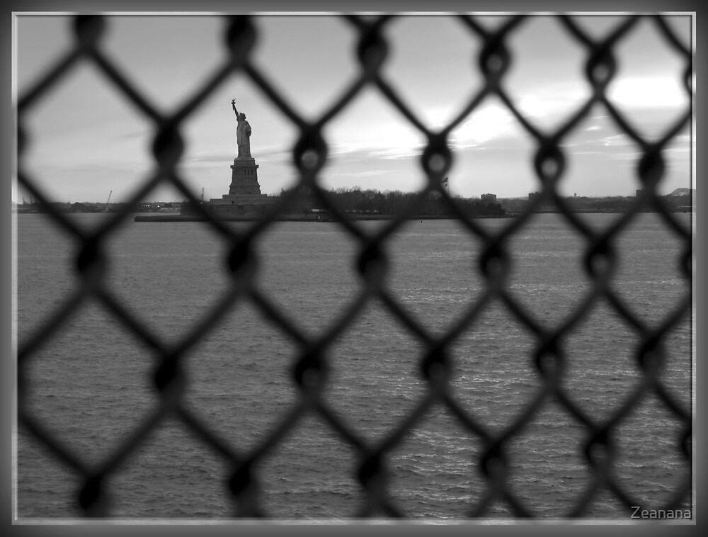 Fenced Away from Liberty by Zeanana