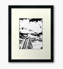 wheretonext? Framed Print