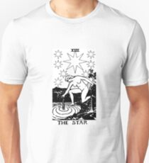 THE STAR - Tarot Card Design Unisex T-Shirt