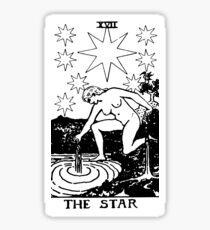 THE STAR - Tarot Card Design Sticker
