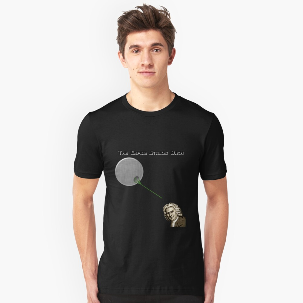 The Empire Strikes Bach Unisex T-Shirt Front