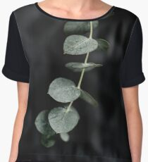 Night garden vine Chiffon Top