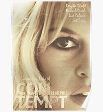 Contempt, movie Fine Art, Brigitte Bardot, Jean-Luc Godard, Fritz Lang, movie poster,  Poster