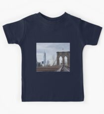 New York City Brooklyn Bridge Kids Tee