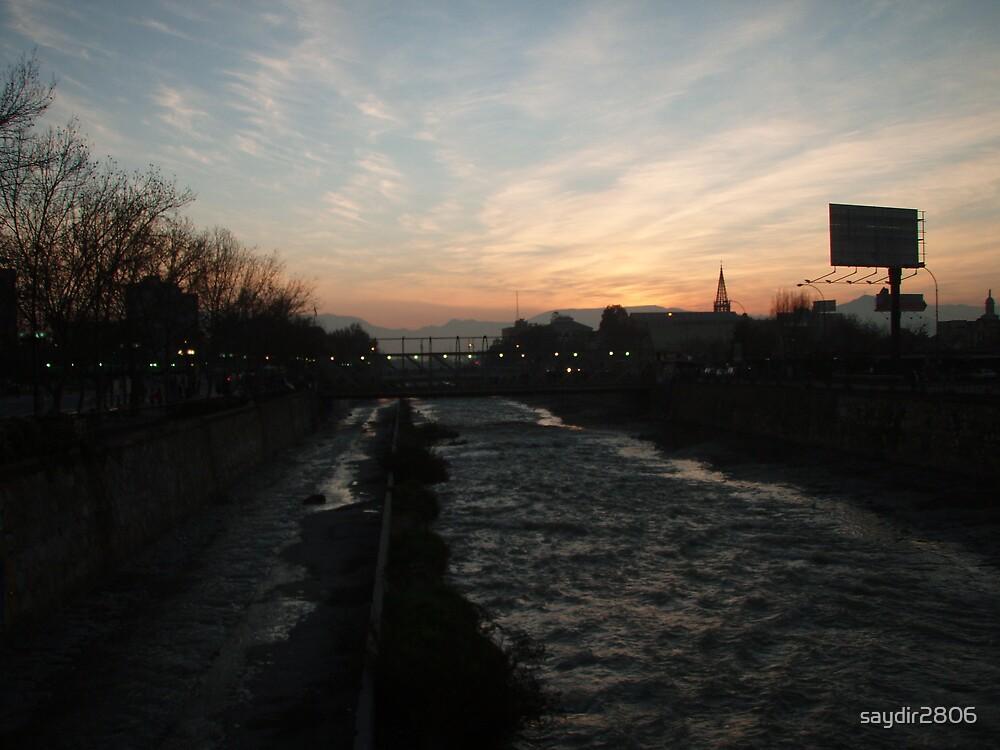 Santiago sunset by saydir2806