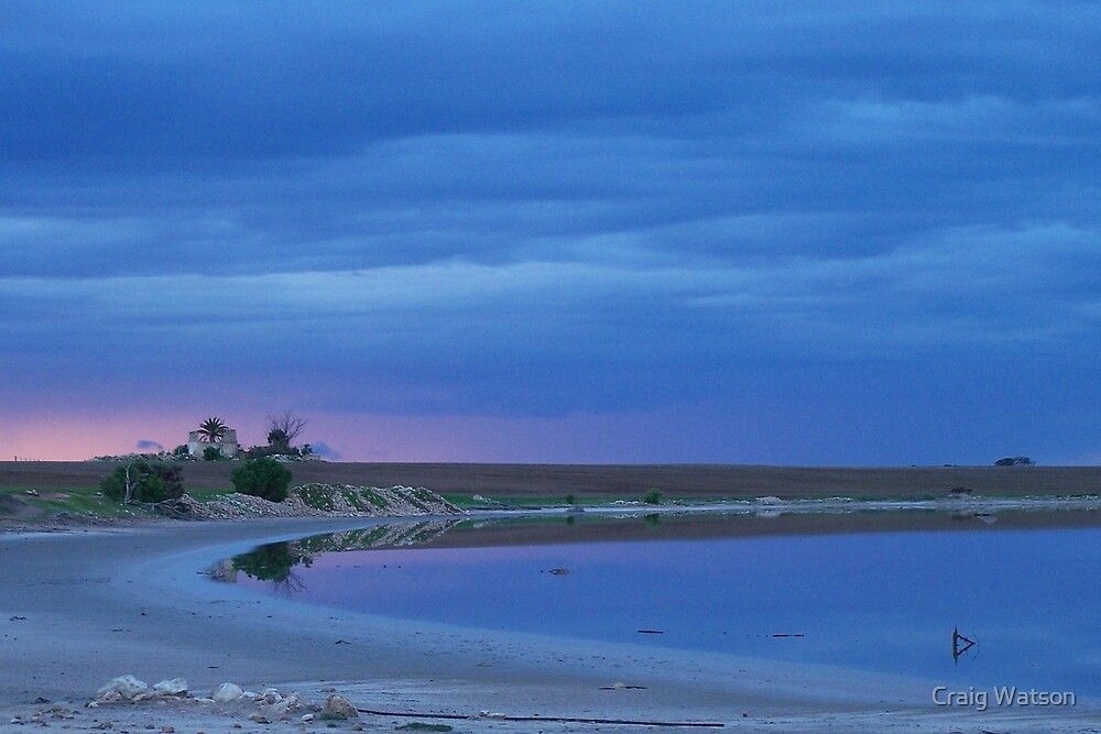 Passing Storm-Southern Yorke Peninsula, South Australia - 1st June 2007 by Craig Watson
