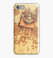 Rustic country coffee house still iPhone Case/Skin