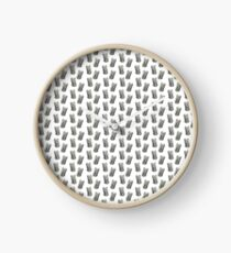 Pattern one dollar tin cans Clock