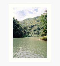 Loboc River - Bohol, Philippines Art Print